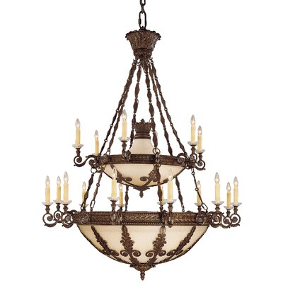 Putnam 18-Light Candle-Style Chandelier