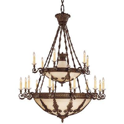 Lounsbury 18-Light Candle-Style Chandelier
