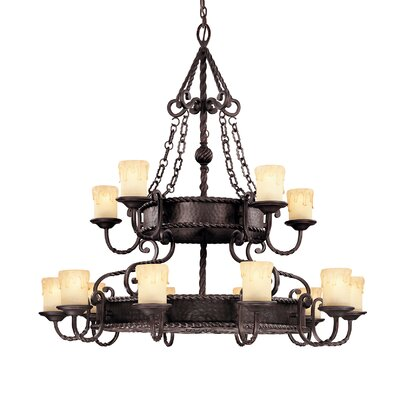 San Gallo 15-Light Candle-Style Chandelier