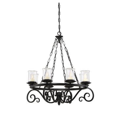 Croghan 8-Light Candle-Style Chandelier
