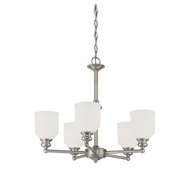 Genevieve 5-Light Shaded Chandelier