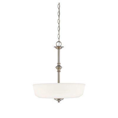 Genevieve 3-Light Bowl Pendant