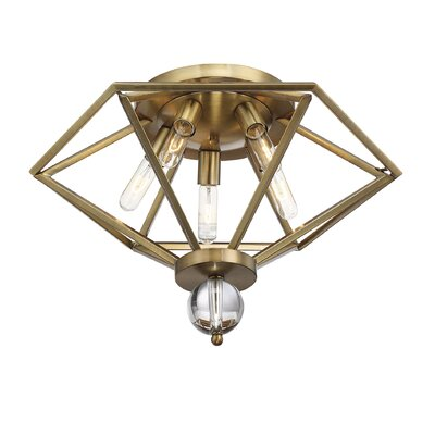 Becker 5-Light Flush Mount