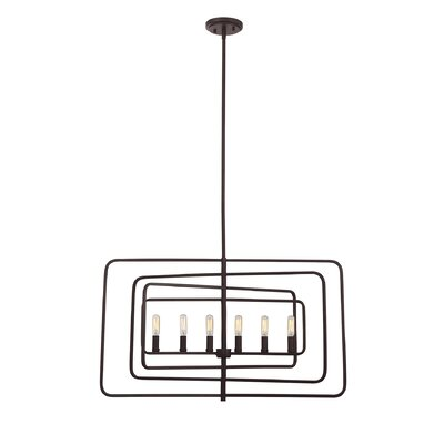 Eglantina 6-Light Foyer Pendant