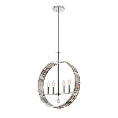 Marlohe 4-Light Globe Pendant