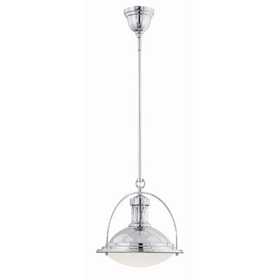 1-Light Mini Pendant Finish: Polished Nickel