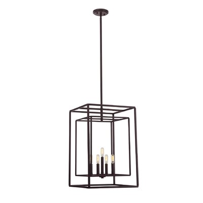 Eglantina 5-Light Metal Foyer Pendant