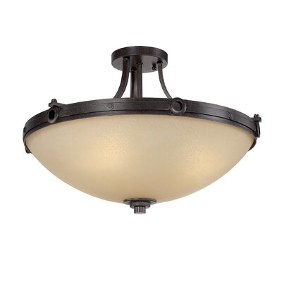 Britt 4-Light Semi-Flush Mount