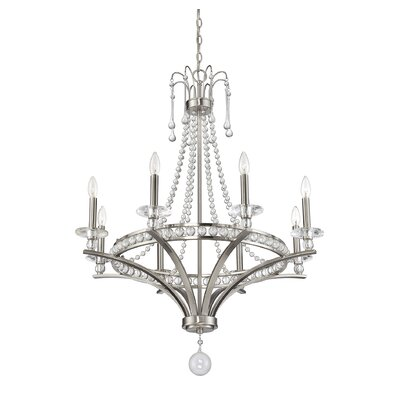 Dore 8-Light Candle-Style Chandelier