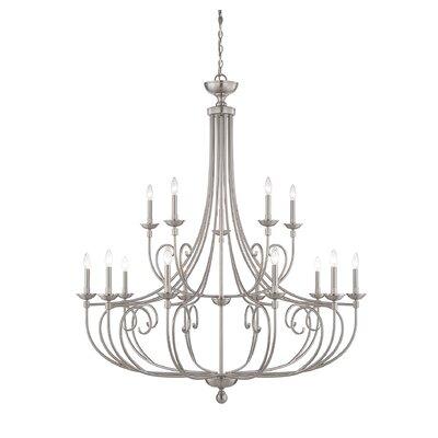 Tarasova 15-Light Candle-Style Chandelier