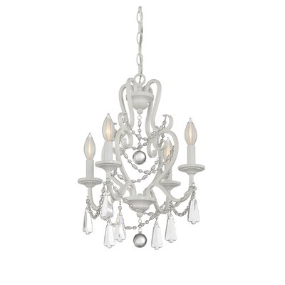 McCarten 4-Light Crystal Chandelier