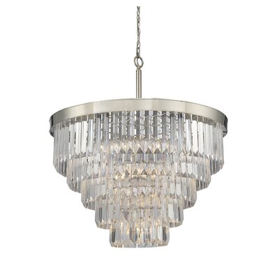 Apus 9-Light Crystal Chandelier
