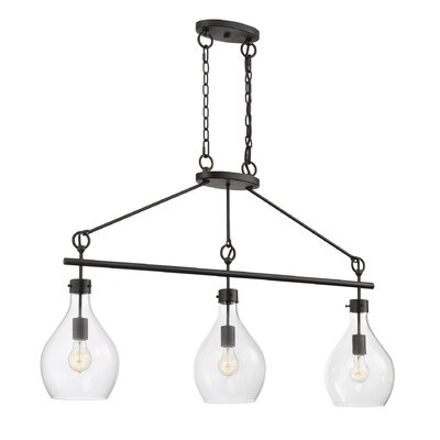 Nan 3-Light Kitchen Island Pendant