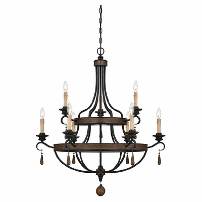 Kelsey 9-Light Candle-Style Chandelier