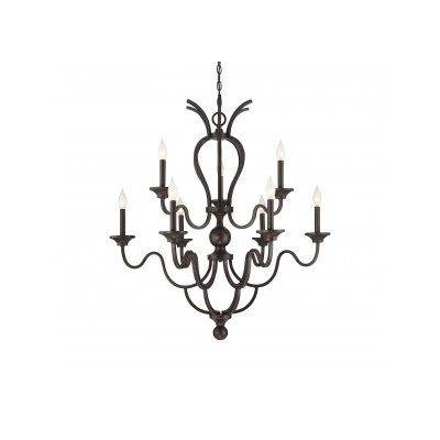 Chatterton 9 Light Candle-Style Chandelier