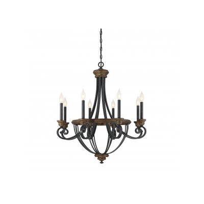 Nanteuil 8-Light Candle-Style Chandelier