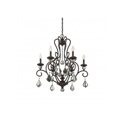 Aughalish 6-Light Candle-Style Chandelier