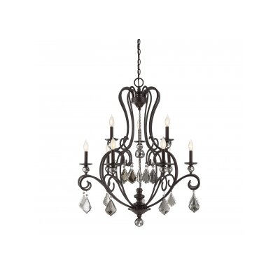 Aughalish 9-Light Candle-Style Chandelier