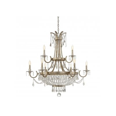Belgrade 9-Light Crystal Chandelier
