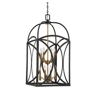 Yepez 8-Light Foyer Pendant