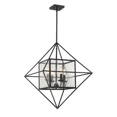 Marlin 4-Light Foyer Pendant Finish: English Bronze