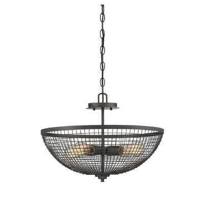 Iunia 4-Light Bowl Pendant