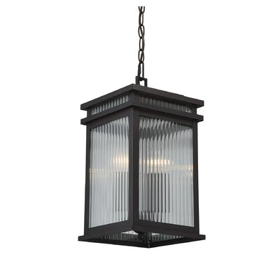 Brayden Studio Lanclos 2-Light Outdoor Hanging Lantern