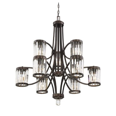 Matlin 9-Light Shaded Chandelier