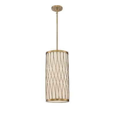 Eliot 2-Light Drum Pendant