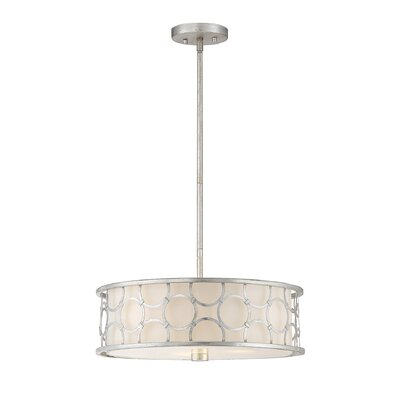 Essen 3-Light Drum Pendant