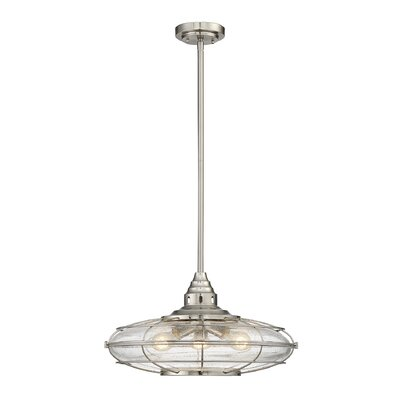 Roberts 3-Light Schoolhouse Pendant
