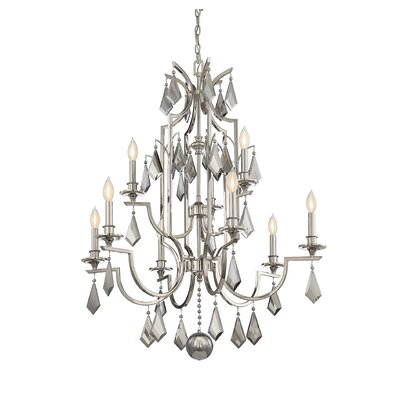 Beselare 9-Light Candle-Style Chandelier