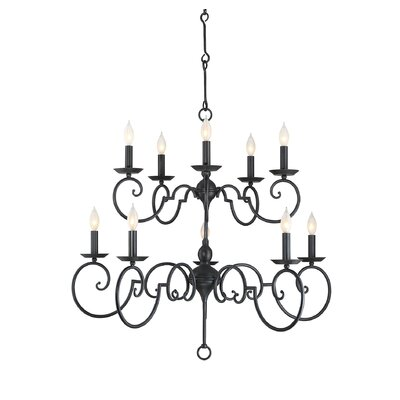 Bayfield 10-Light Candle-Style Chandelier