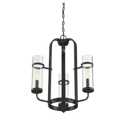 Poteau 3-Light Candle-Style Chandelier