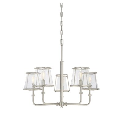 Metinaro 5-Light Candle-Style Chandelier