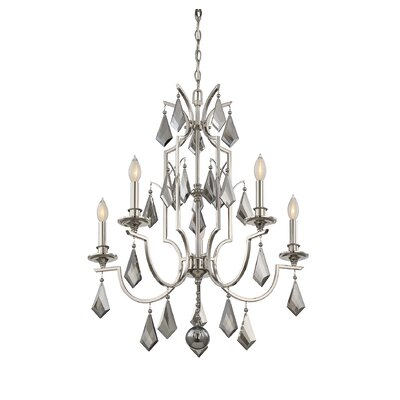 Beselare 5-Light Candle-Style Chandelier