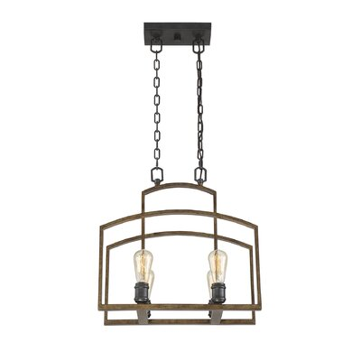 Gabrielo 4-Light Foyer Pendant