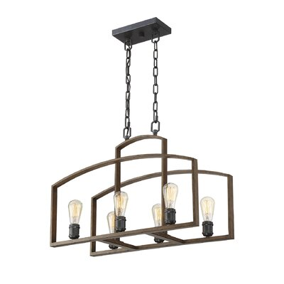 Gabrielo 6-Light Kitchen Island Pendant