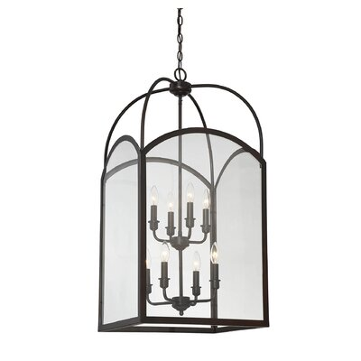 Mount Airy 8-Light Foyer Pendant Finish: English Bronze