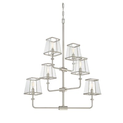 Metinaro 6-Light Candle-Style Chandelier