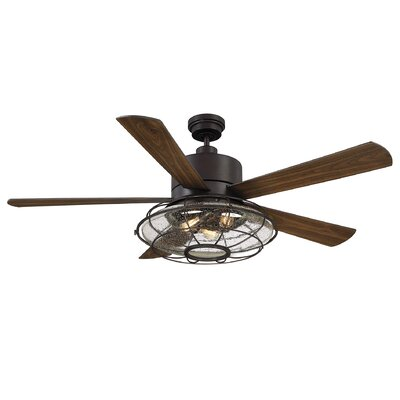 """56"""" Roberts 5 Blade Ceiling Fan with Remote Control"""