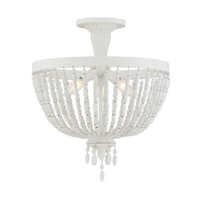 Didier 3-Light Semi Flush Mount