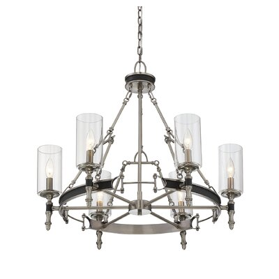 Gillian 6-Light Candle-Style Chandelier