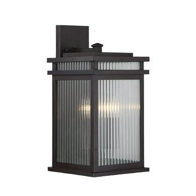 Brayden Studio Lanclos 2-Light Outdoor Wall Lantern