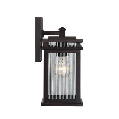 Brayden Studio Lanclos 1-Light Outdoor Wall Lantern