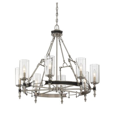 Gillian 8-Light Candle-Style Chandelier