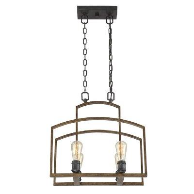 Ponca 4-Light Foyer Pendant