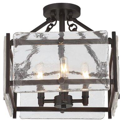 Dorota 6-Light Semi Flush Mount