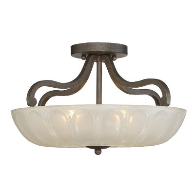 Lexington 3-Light Semi Flush Mount