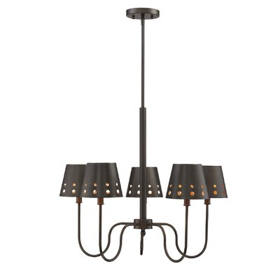 Maximo 5-Light Shaded Chandelier